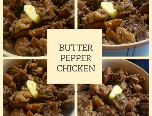 BUTTER PEPPER CHICKEN