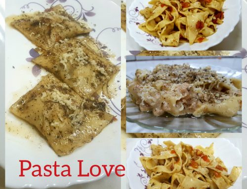 HOME MADE PASTA FROM SCRATCH