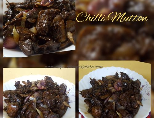 CHILLI MUTTON